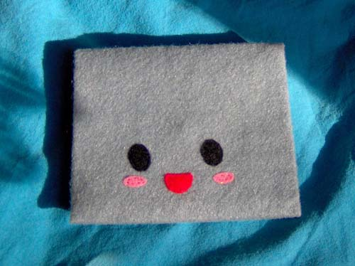 Felt Plush Envelope Prototype